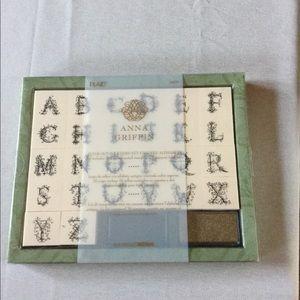 Foam Mount Alphabet Stamp